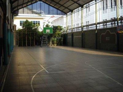 Indoor Lapangan Basket SMA PL Yk